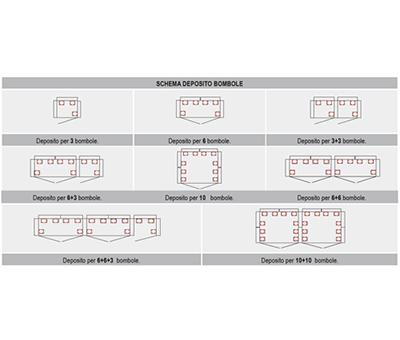 Armadi modulari per deposito BOMBOLE A GAS COMPRESSI 2