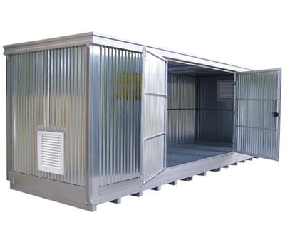 Container in lamiera gracata zincata 2