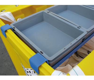 Contenitori in polietilene per la raccolta di tubi NEON 2