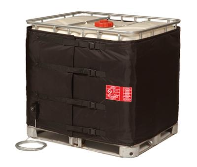 Copertura riscaldante a doppio circuito per cisternette