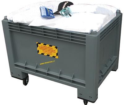 Kit contenitore carrellato lt - 300