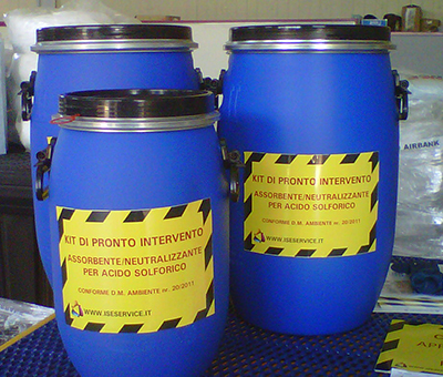 Kit contenitore cilindrico CHEM