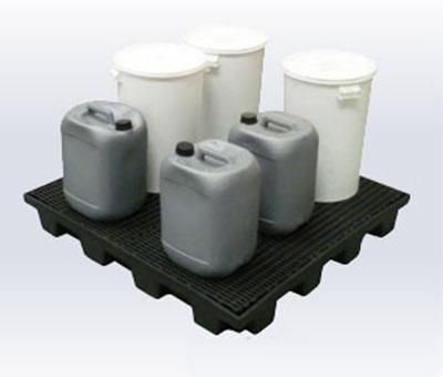 Piattaforma di contenimento Linea ECONOMY in polietilene riciclato