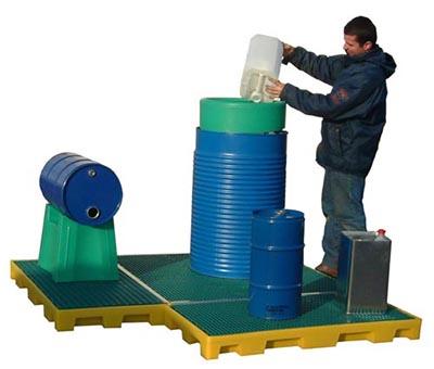 Piattaforma di contenimento modulare 2