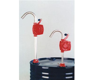 Pompe rotative ad azionamento manuale specifiche per tutti i tipi di oli