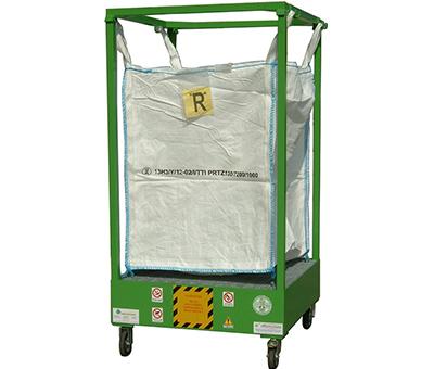 Porta BIG BAG - Struttura con vasca di contenimento 2
