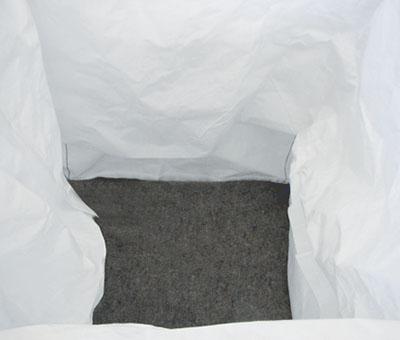 Sacchi BIG BAG con tessuto filtrante per oli 2