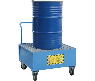 Vasche di Raccolta per 1 fusto da 200 kg. 4