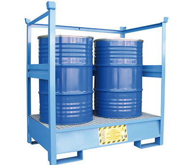 Vasche di Raccolta per 2 fusti da 200 kg 2