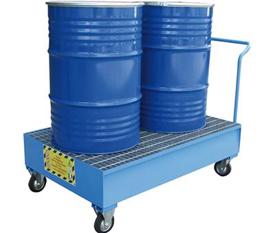 Vasche di Raccolta per 2 fusti da 200 kg 5