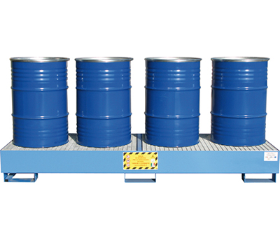 Vasche di Raccolta per 4 fusti da 200 kg 2