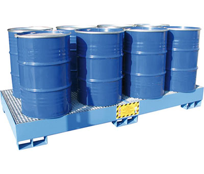 Vasche di Raccolta per 8 fusto da 200 kg