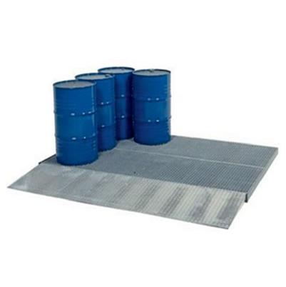 Piattaforme di contenimento in acciaio