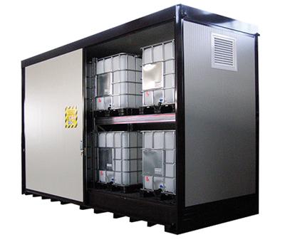 Container di sicurezza per lo stoccaggio di CISTERNETTE