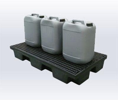 Piattaforma di contenimento Linea ECONOMY in polietilene riciclato 2