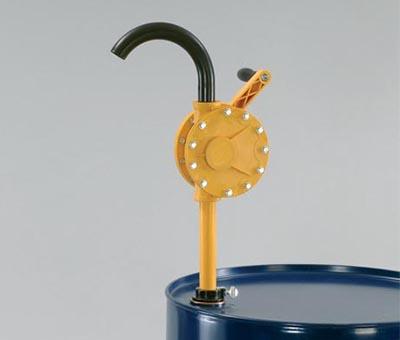 Pompa rotativa ad azionamento manuale per acidi - specifica per soluzioni acquose