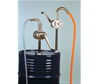 Pompa rotativa ad azionamento manuale per idrocarburi - specifica per benzina,diesel,paraffina e oli leggeri