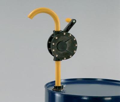 Pompa rotativa manuale per acidi
