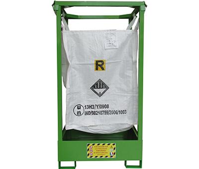 Porta BIG BAG - Struttura con vasca di contenimento