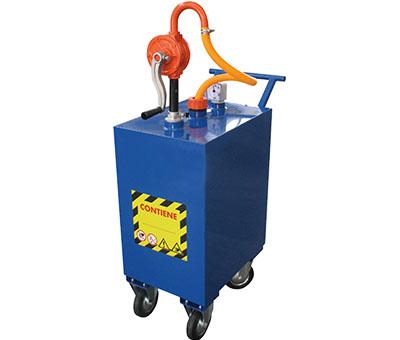 Sistemi mobili di estrazione e distribuzione di liquidi.
