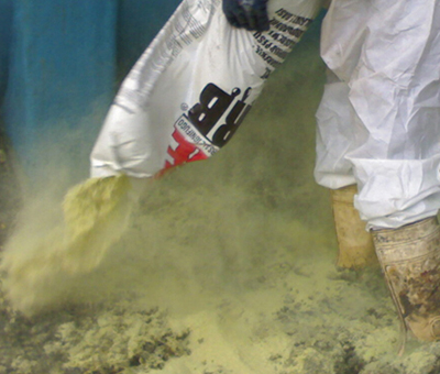 UNISORB FIRE Assorbente industriale ignifugo per liquidi e grassi 2