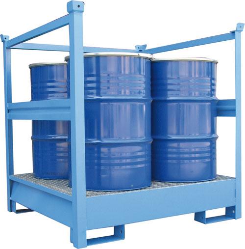 Vasche di Raccolta per 4 fusti da 200 kg 3