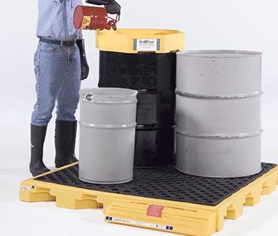 Vaschette di contenimento in polietilene 2